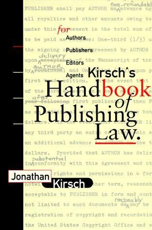 Download Kirsch's handbook of publishing law